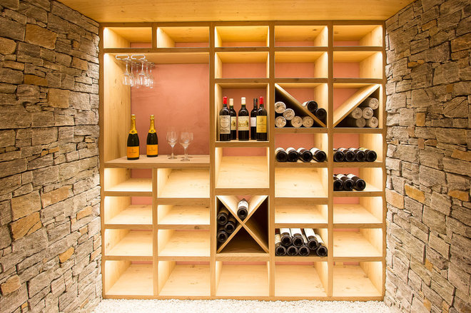 Contemporary Wine Cellar by Ciel Atelier d'Architecture