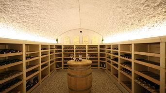 Création d une cave à Vin voutée