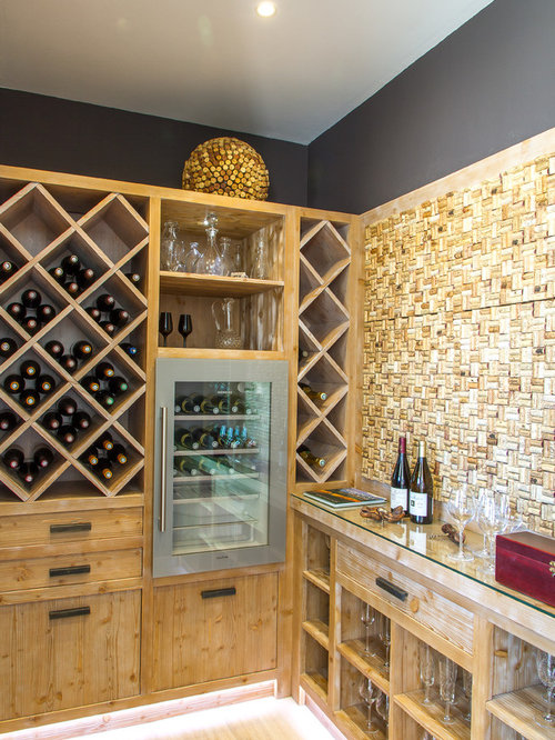 Photos et idées déco de caves à vin contemporaines France