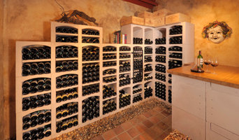 Wine cellar of Burgundy limestone