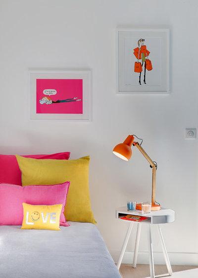 Contemporáneo Dormitorio infantil by Anne Catherine Pierrey - Architecte DESA.