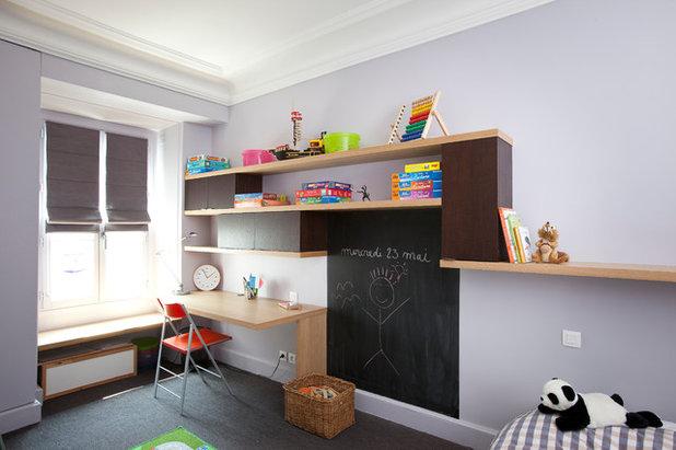12 id es d co pour sublimer une chambre d 39 enfant avec du noir - Astuce rangement chambre enfant ...