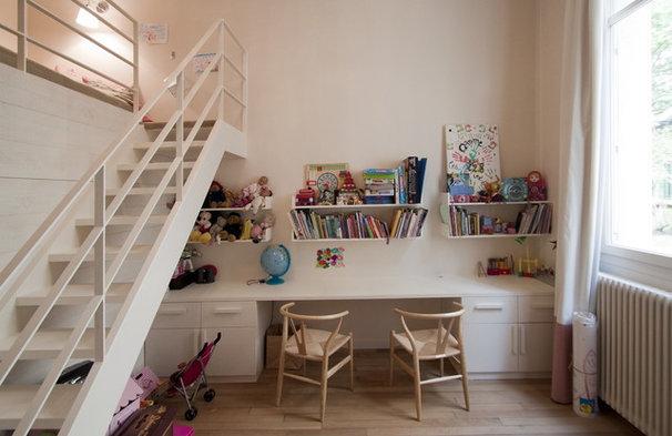 contemporain chambre d 39 enfant by feld architecture. Black Bedroom Furniture Sets. Home Design Ideas