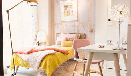 10 combinaisons de couleurs pour les chambres d'adolescentes