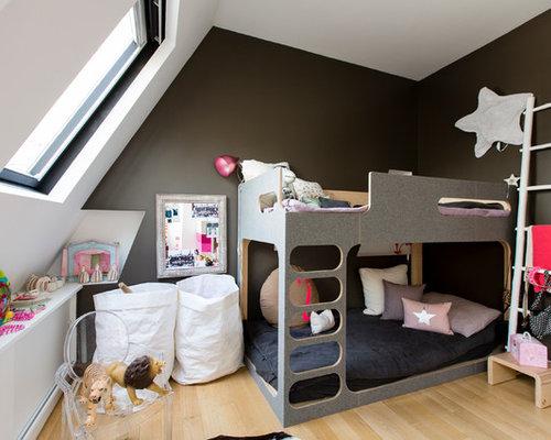 Chambre mansard e home design ideas renovations photos - Amenagement chambre mansardee ...