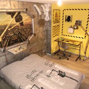 Idee per una cameretta per bambini moderna di medie dimensioni