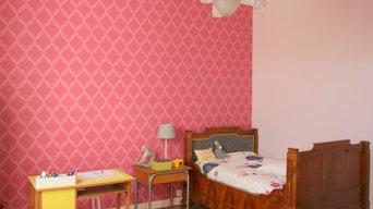 Chambre d'enfant chic et vintage