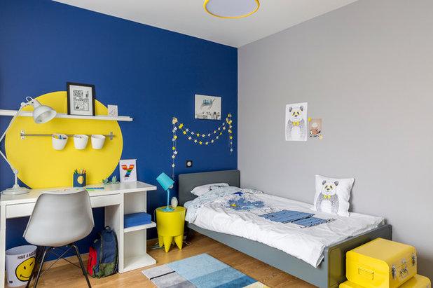 Contemporain Chambre d'Enfant by Delphine Guyart Design
