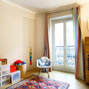 Idées déco pour une chambre d'enfant contemporaine.