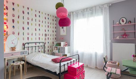 Chambre d'enfant de la Semaine : Du rose pour princesse Laura