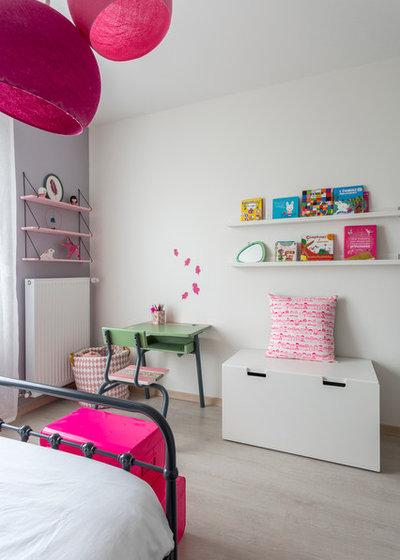 ein rosa kinderzimmer f r eine kleine prinzessin. Black Bedroom Furniture Sets. Home Design Ideas