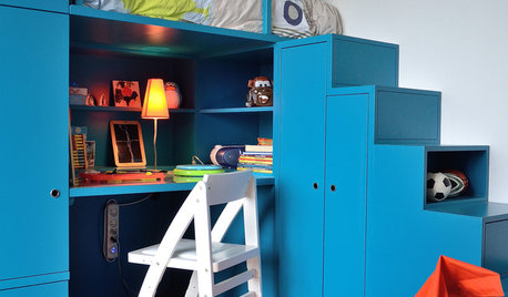 12 solutions pour optimiser une petite chambre d'enfant