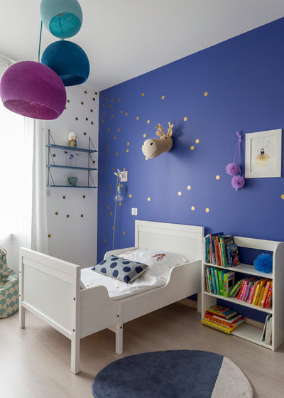 Contemporain Chambre d'Enfant by Delphine Guyart Design
