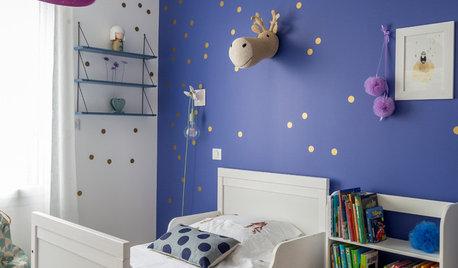 Chambre d'enfant de la Semaine : Quand une fillette choisit le bleu