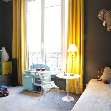chambres d'enfants dans un appartement à Paris