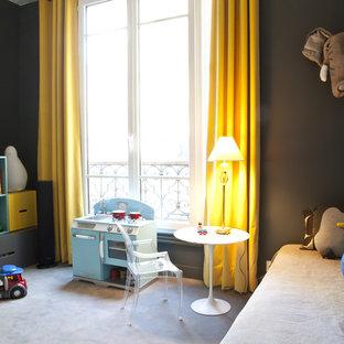 Aménagement d'une chambre d'enfant de 1 à 3 ans contemporaine.