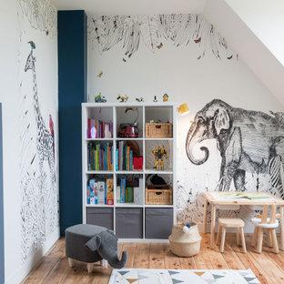 Modernes Kinderzimmer in Paris