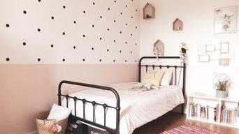décoration chambre fille esprit rétro