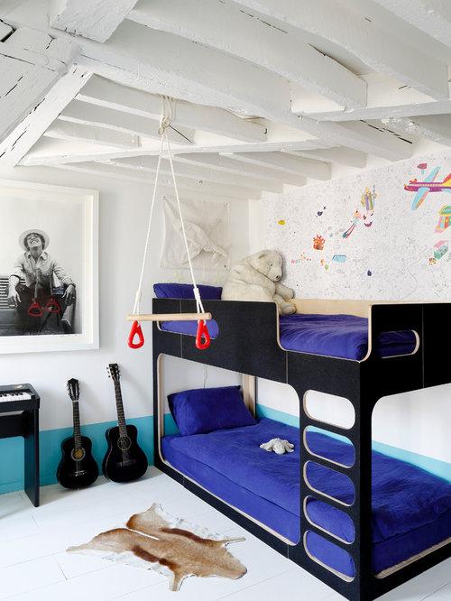 Chambre d 39 enfant scandinave photos et id es d co de for Taille minimum d une chambre