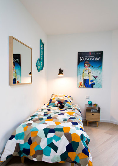 Contemporain Chambre d'Enfant by Atelier Olivier Bourdon