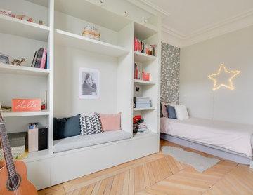 Grand appartement parisien refait à neuf