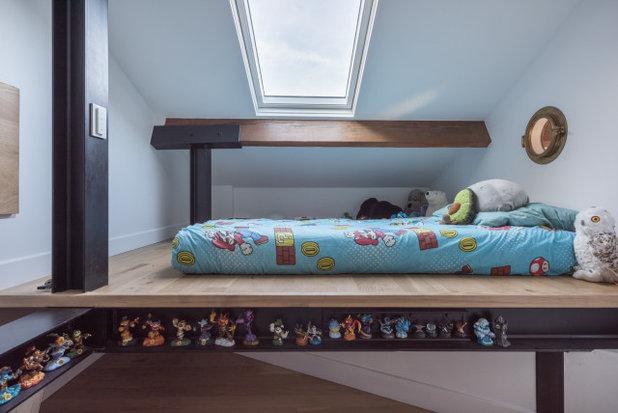 Contemporain Chambre d'Enfant by KIDA ARCHITECTURE & DESIGN