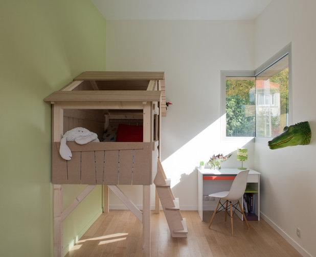 Contemporain Chambre d'Enfant by MELANIE LALLEMAND ARCHITECTURES