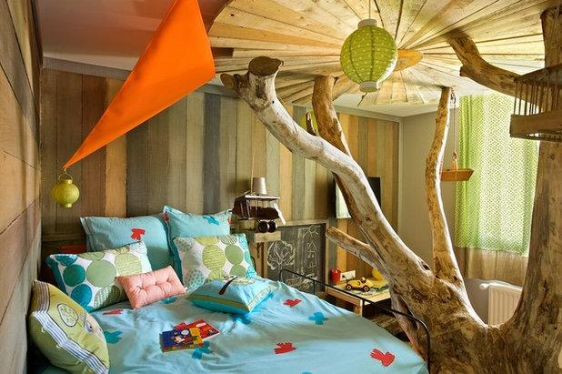 Chambre d enfant de la semaine un arbre dans ma cabane for Cabane dans la chambre