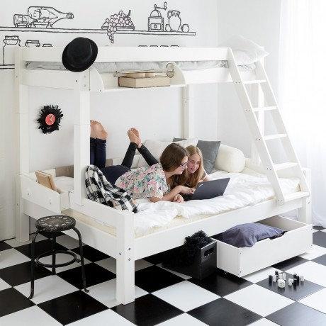lits enfants. Black Bedroom Furniture Sets. Home Design Ideas