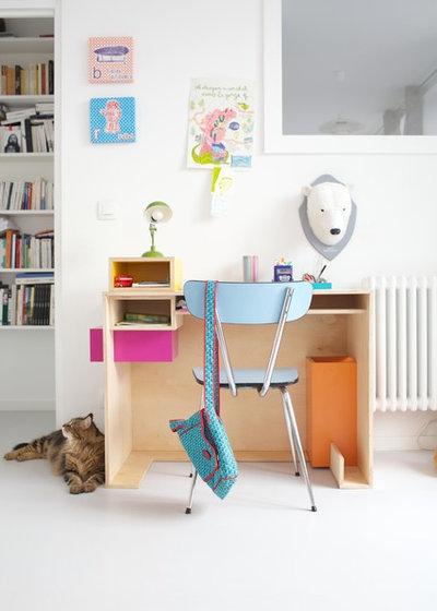 rentr e 16 am nagements pour pr parer le bureau de votre fillette. Black Bedroom Furniture Sets. Home Design Ideas
