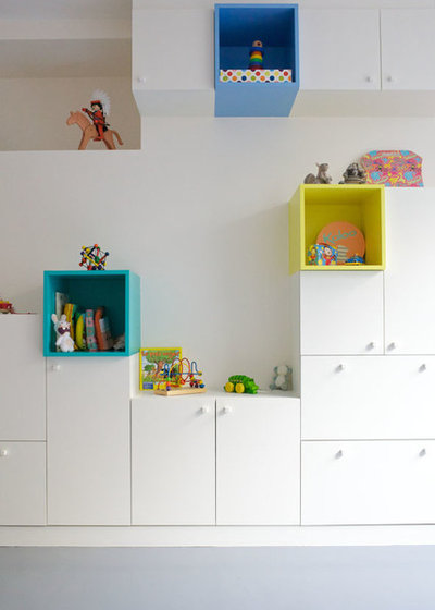 Contemporain Chambre d'Enfant by Agnès & Agnès architecture