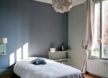 Its very lovely, what are the colors used on both of the walls? & roof