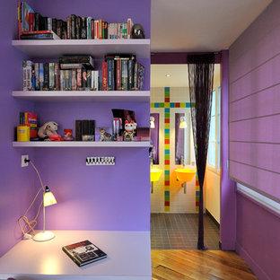 Contemporary kids' room in Paris.