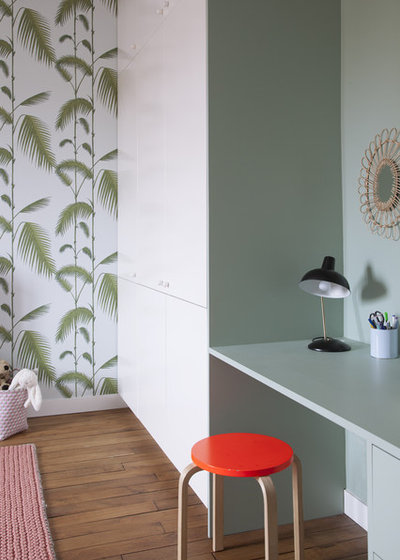 Contemporain Chambre d'Enfant by Charlotte Fequet