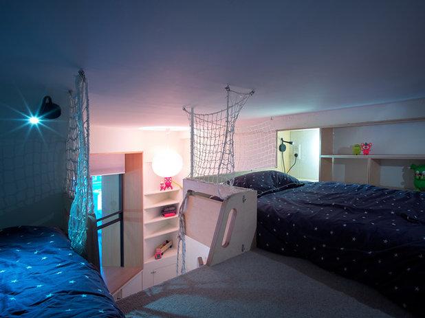 Contemporáneo Dormitorio infantil by Atelier Pelpell
