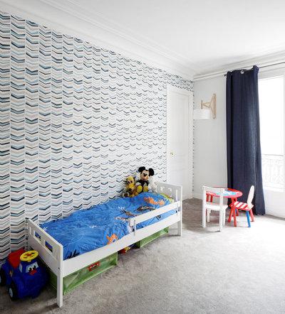 avant apr s un grand haussmannien remis au go t du jour. Black Bedroom Furniture Sets. Home Design Ideas