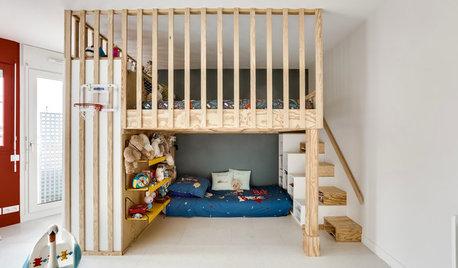 Conseils de pro pour aménager l'espace sous un lit mezzanine