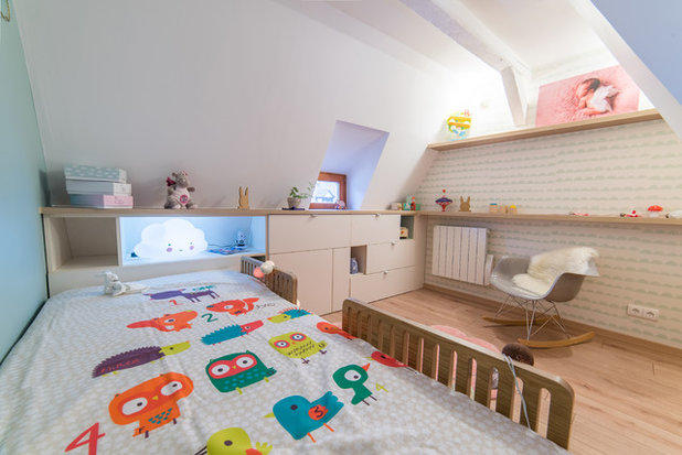 Scandinave Chambre d'Enfant by Design d'Space - Géraldine Lange