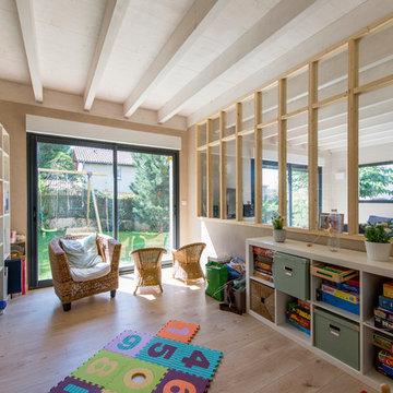 Rénovation et extension d'une maison en bois