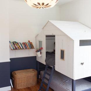 Inspiration pour une petit chambre d'enfant de 1 à 3 ans nordique.