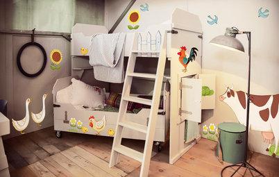 Les animaux de la ferme s'invitent dans les chambres d'enfant