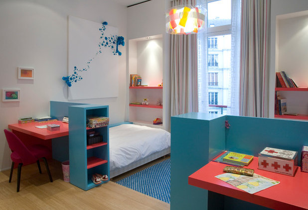 Contemporain Chambre d'Enfant by ATELIER FB