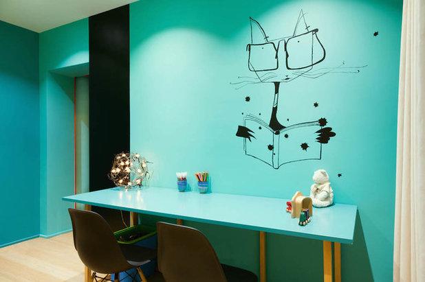 Contemporain Chambre d'Enfant by Agence Faure