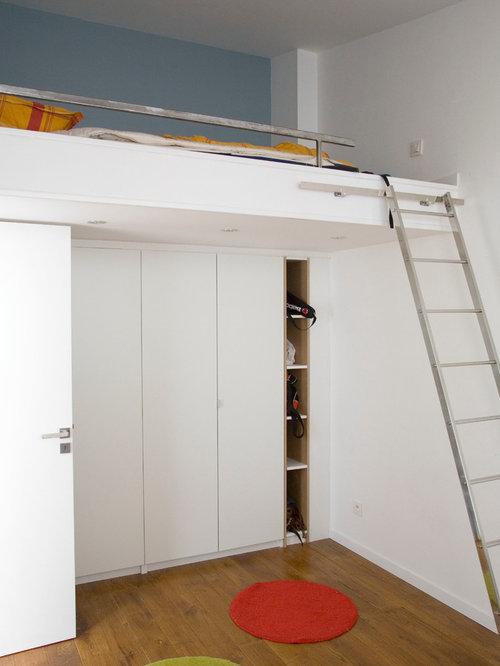 Mezzanine home design ideas pictures remodel and decor - Hauteur sous plafond mezzanine ...