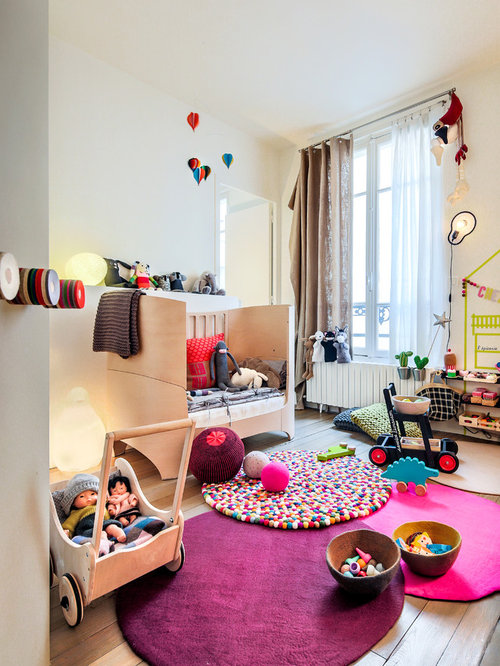 Montessori playroom home design ideas pictures remodel for Chambre montessori