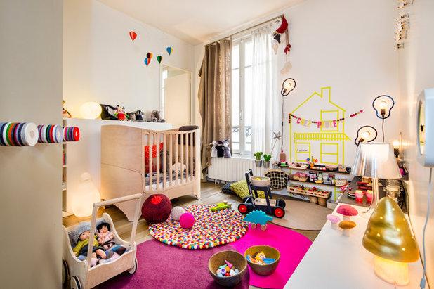 Chambre d 39 enfant de la semaine l 39 univers girly et for Chambre enfant petit espace