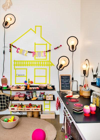 Contemporáneo Dormitorio infantil by a-sh