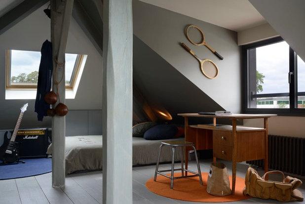 Contemporáneo Dormitorio infantil by Alfred / Stéphanie Genevrier