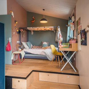Cette photo montre une chambre d'enfant industrielle.