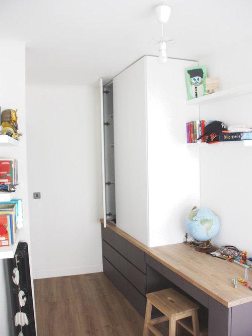 R novation d 39 une chambre d 39 enfant avec meuble sur mesure for Appartement meuble nantes